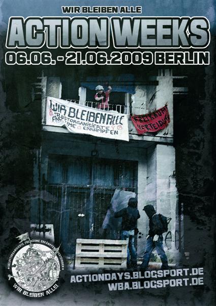 Wir Bleiben Alle Action Weeks– Berlin, 6. 6.– 21. 6. 2009